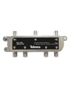 REPARTIDOR 5-2400MHZ F 5D 10/12DB INTERIOR + PAU 5160146 TELEVES