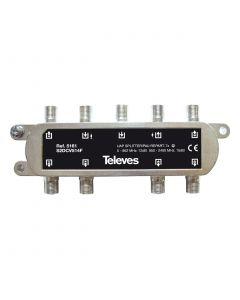 REPARTIDOR 5-2400MHZ F 7D 12/14DB INTERIOR + PAU 5161146 TELEVES