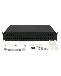 BANDEJA FO RACK 19 2U - 48 CONECTORES SC (Profundidad 230mm) 533157146 TELEVES