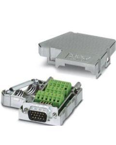 CONECTOR DB15 D-SUB 15/POLOS MACHO VOLANTE 35/GRADOS TORNILLO 560460294 PHOENIX CONTACT