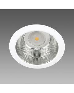 FOCO LED EMB 29W 3600LM 3K RETRAIDO IP44 90G BLANCO 60510130 DISANO